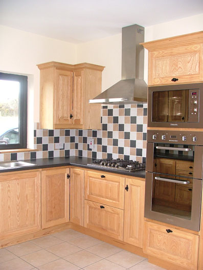 Solid Timber Fitted Kitchens Furniture Wexford Kevin Toomey Kitchens